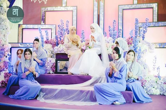 gambar kahwin jihan muse