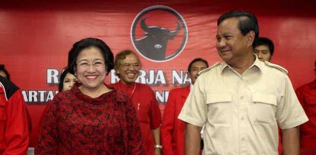 Sudah Rahasia Umum Hubungan Megawati Dan Prabowo Sangat Baik