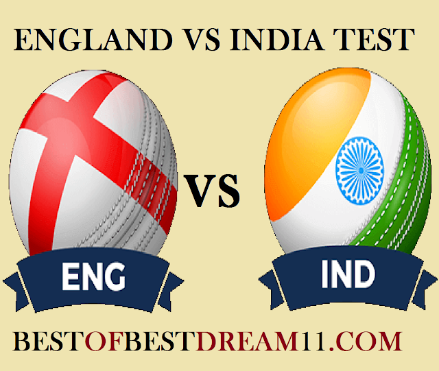 Ind vs eng second test match