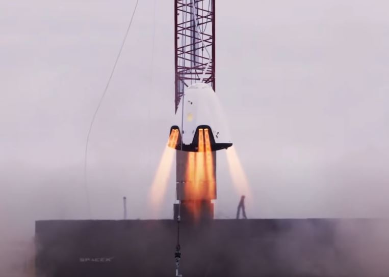 SpaceX Crew Dragon Launch to iss.