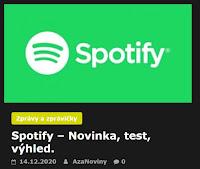 Spotify – Novinka, test, výhled. - AzaNoviny