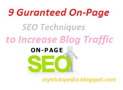 On-Page SEO Techniques to Increase Blog Traffic