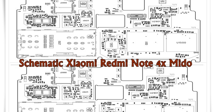 Schematic Xiaomi Redmi Note 4x Mido