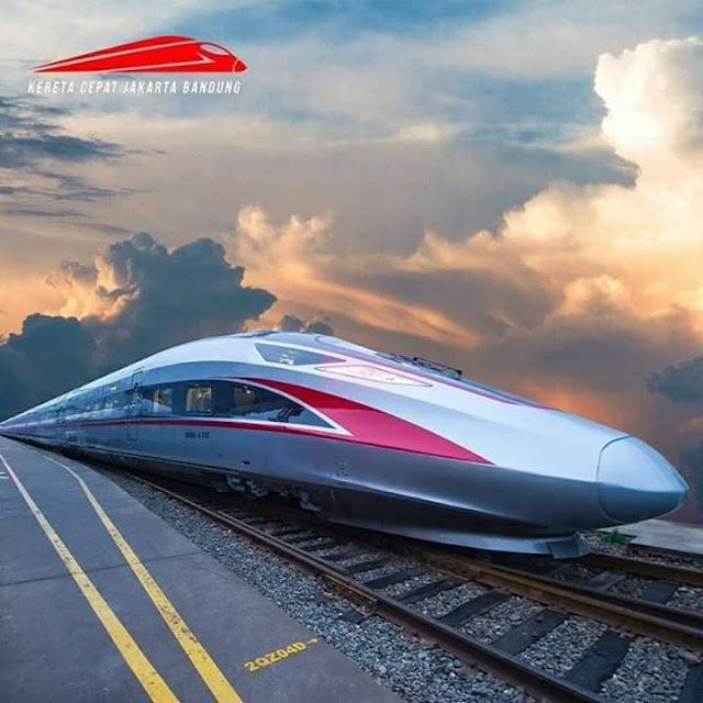 Intip Foto Kereta Api Cepat Jakarta - Bandung