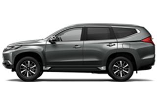 Mitsubishi Pajero Warna Titanium Grey Metallic 2019