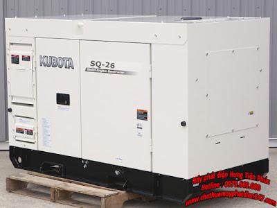 Máy phát điện Kubota SQ-26