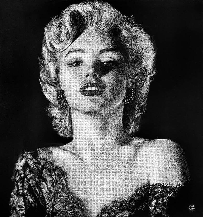 02-Marilyn-Monroe-Fred-Cukierman-www-designstack-co
