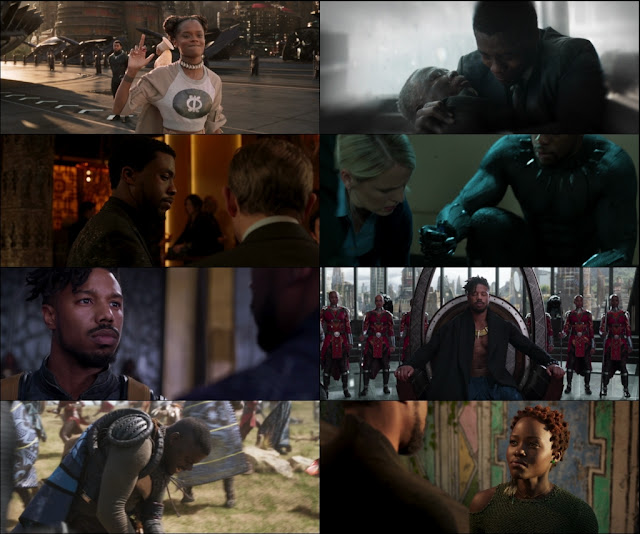 Black Panther 2018 Dual Audio 1080p Bluray