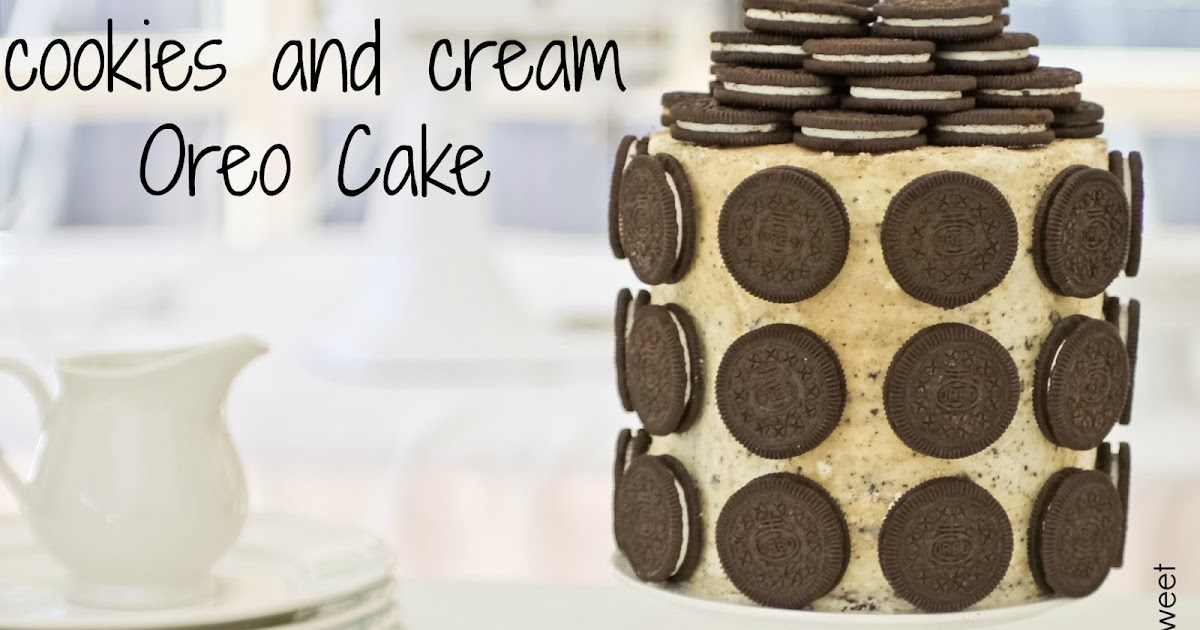 Stacked Oreo Birthday Cake
