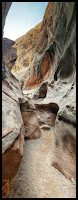 More of the Turns and Twists  and Tall Cliffs in Little Wild Horse Slot Canyon San Rafael Swell, Utah