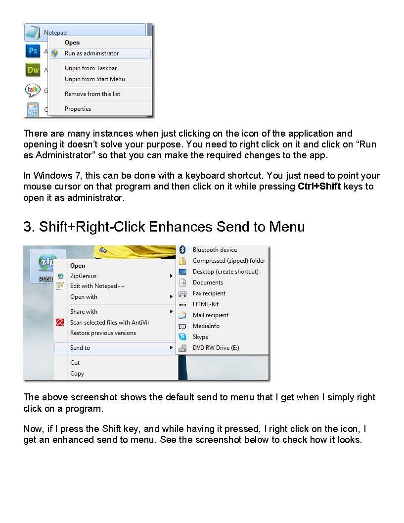 15 Killer Windows 7 Keyboard Shortcuts | A Support Desk