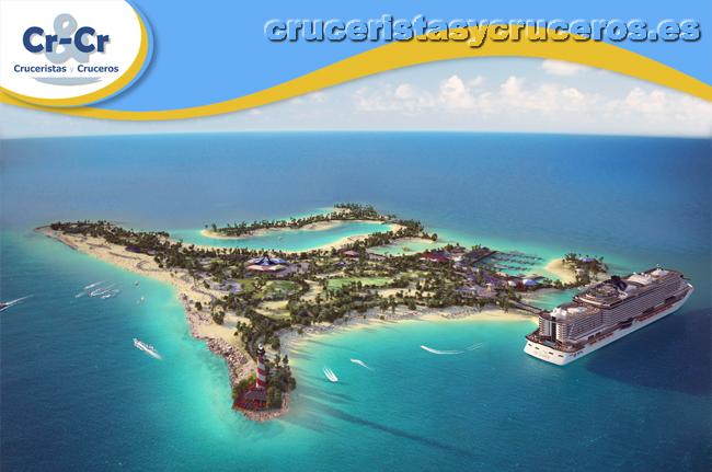 ► MSC Cruceros inicia las obras de Ocean Cay MSC Reserva Marina