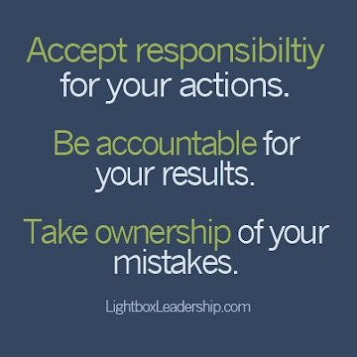 Responsibility, Accountability and Ownership