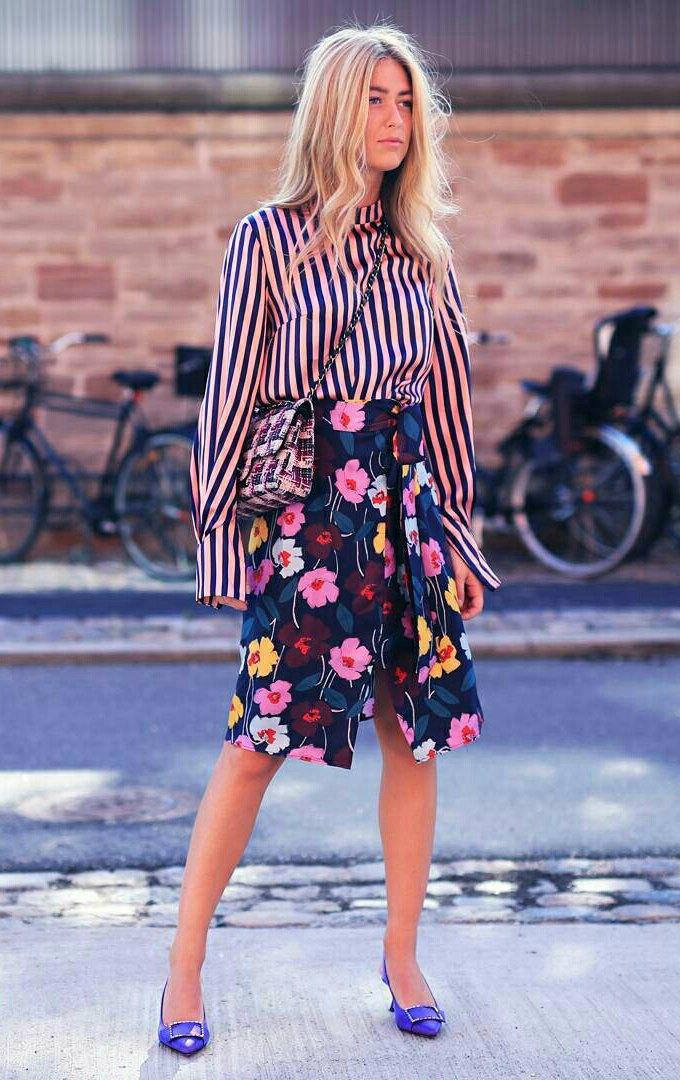 Looks florais para se vestir de primavera
