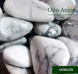 Pedra Howlita Rolado