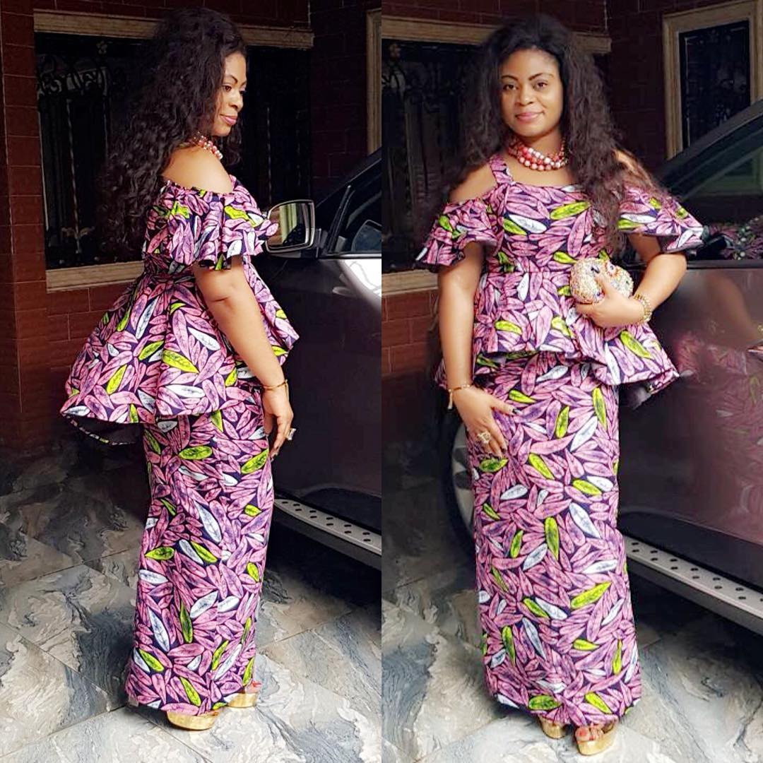 Pictures Of Latest Ankara Skirt And Blouse Styles – DACC