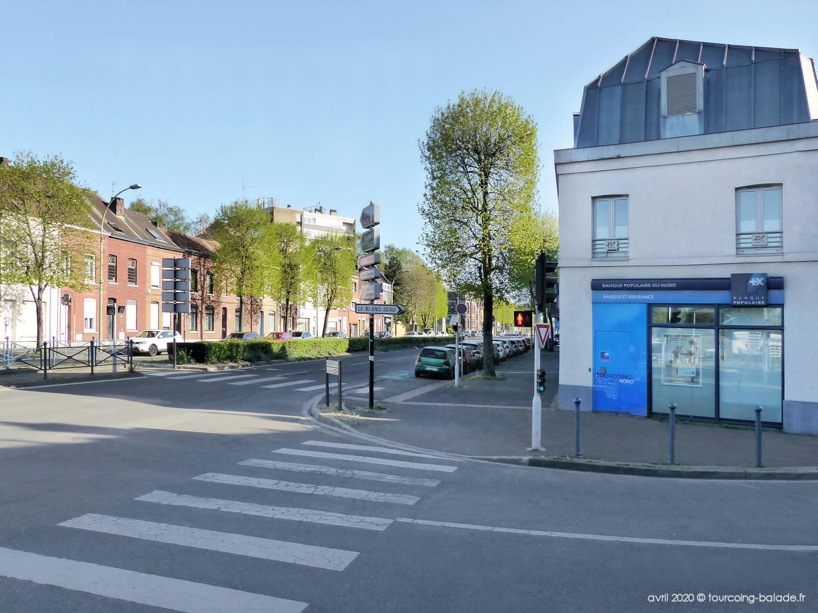 Boulevard Gambetta Tourcoing - Banque populaire du Nord