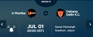 Bengal Warriors Vs Puneri Paltan