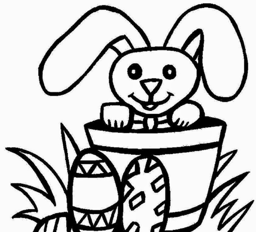 Free Easter Coloring Pages Free Coloring Pictures - Easter-coloring-pages-toddlers