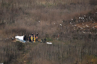 It has been revealed that a total of 9 people died within the helicopter crash that claimed the cause the death of Kobe Bryant and his 13-year-old daughter