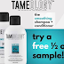 Free Tameology Shampoo and Conditioner Sample Bottles