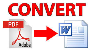 How to Convert PDF File to Word File Simple Way