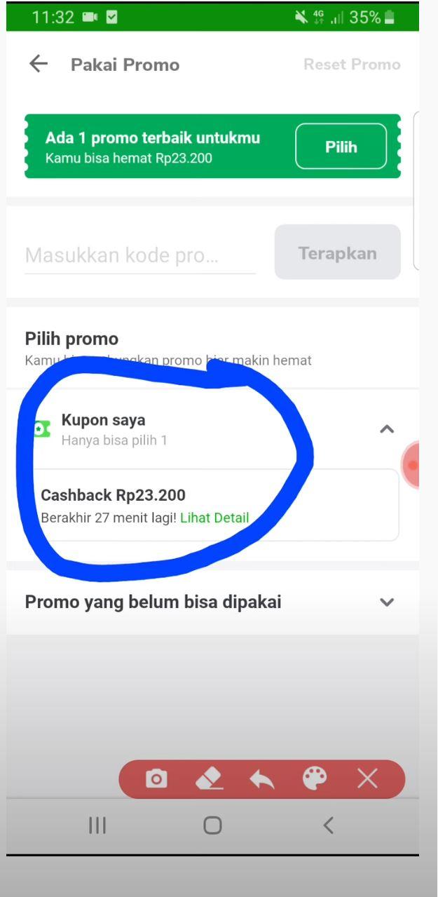 kupon cashback Tokopedia