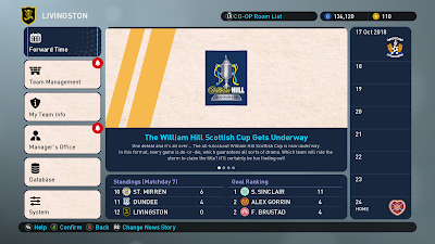 PES 2019 ML Graphics Scottish William Hill Cup by Hova_Useless