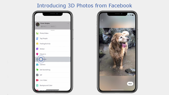 Facebook 3 Dimensional (3D) Photos & Videos: How to create using Apple iPhone?