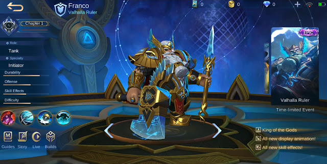 Skin Epic Franco Valhalla Ruler