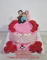 Kue Tart Romantis Anniversary dan Birthday