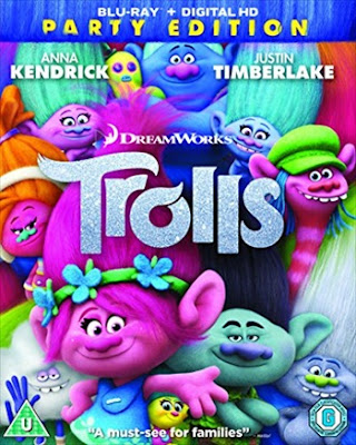Trolls 2016 Dual Audio Hindi 720p BluRay 900MB