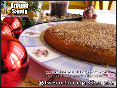 receta bizcocho de canela recipe cinnamon cake