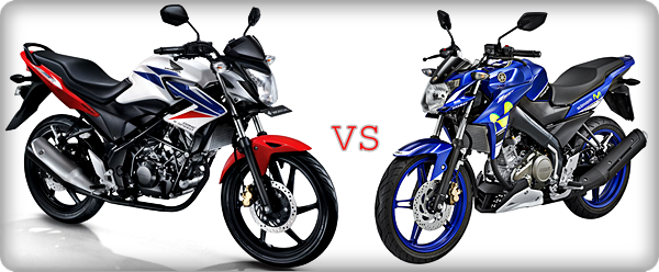 Komparasi Honda All New CB150R Streefire vs Yamaha New V-ixion Advance 2015