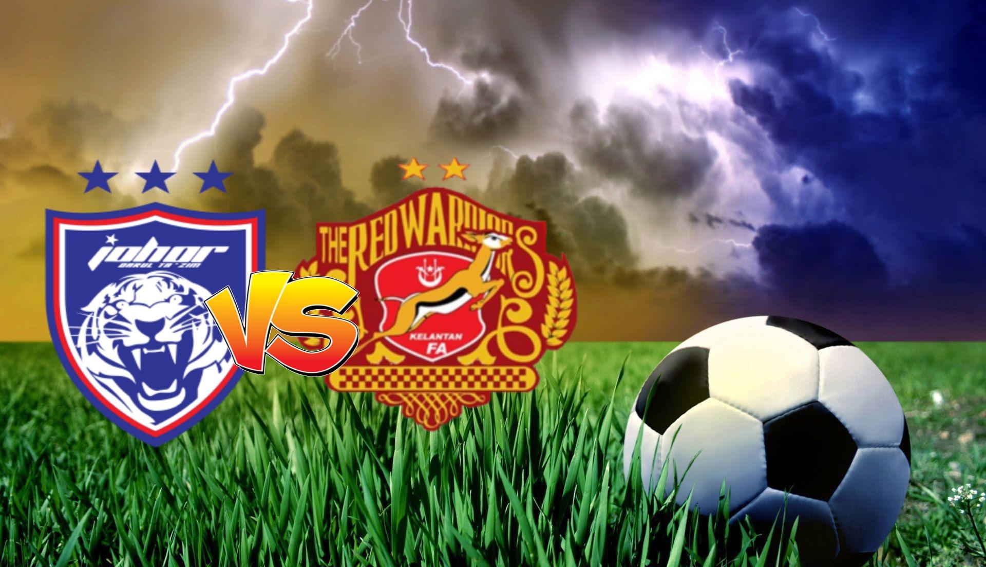 Live Streaming JDT II vs Kelantan FC Liga Premier 9.10.2020