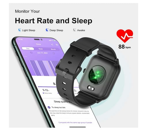 Blackview Fitness Smart Watch with Blood Oxygen