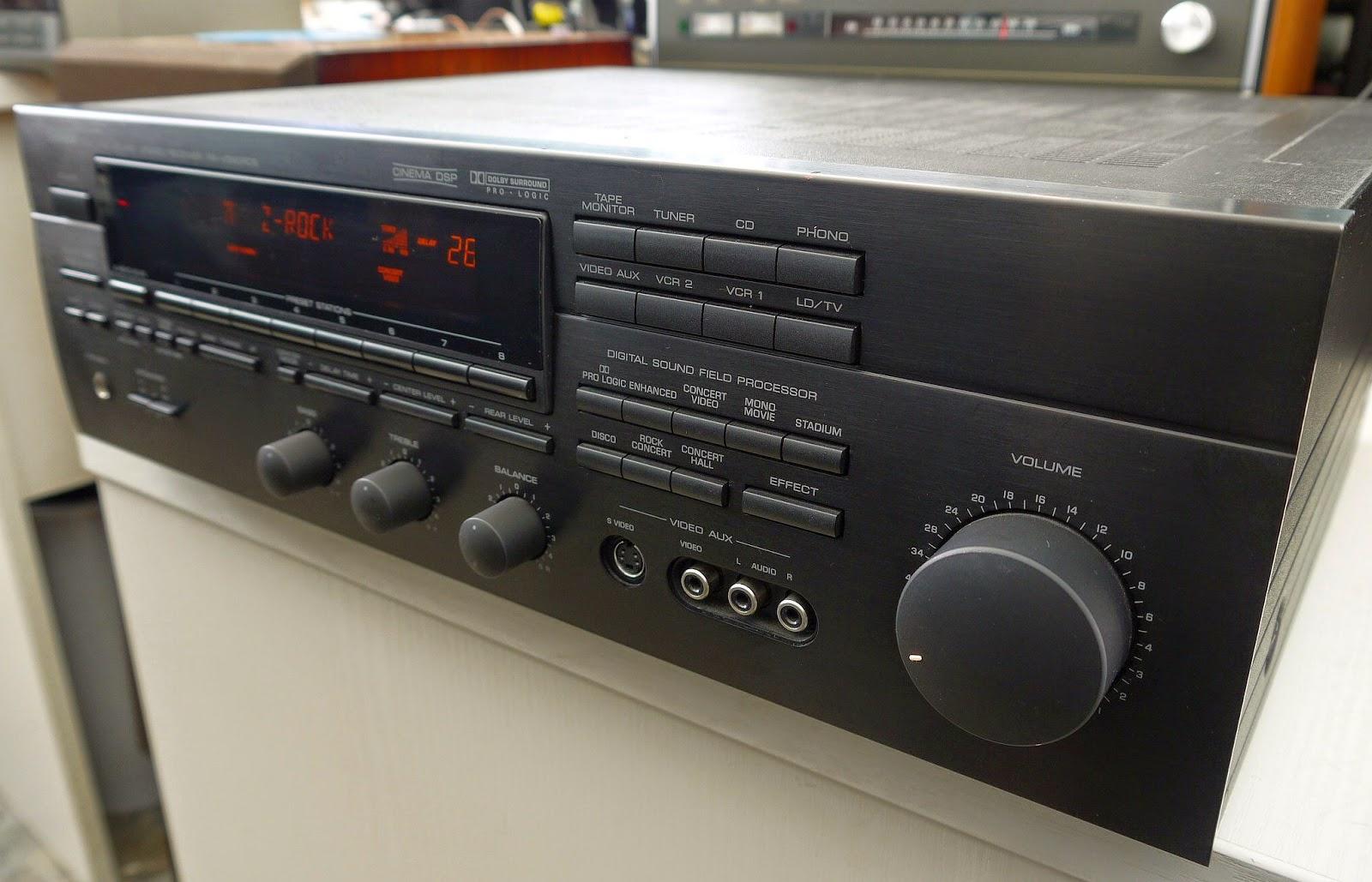 yamaha rx v590rds av receiver audiobaza. Black Bedroom Furniture Sets. Home Design Ideas