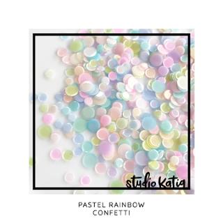 PASTEL RAINBOW CONFETTI