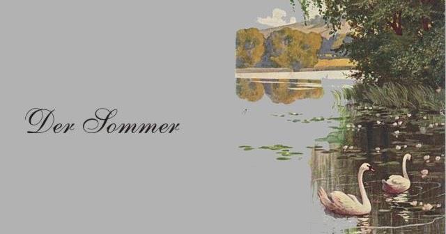 Gedichte Und Zitate Fur Alle Wedekind 4 Jahreszeiten Sommer