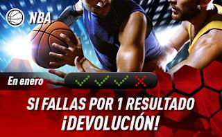 sportium NBA: En Enero Combinadas 'con seguro'