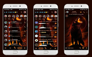 Angry Wolf 2 Theme For YOWhatsApp & Fouad WhatsApp By Leidiane