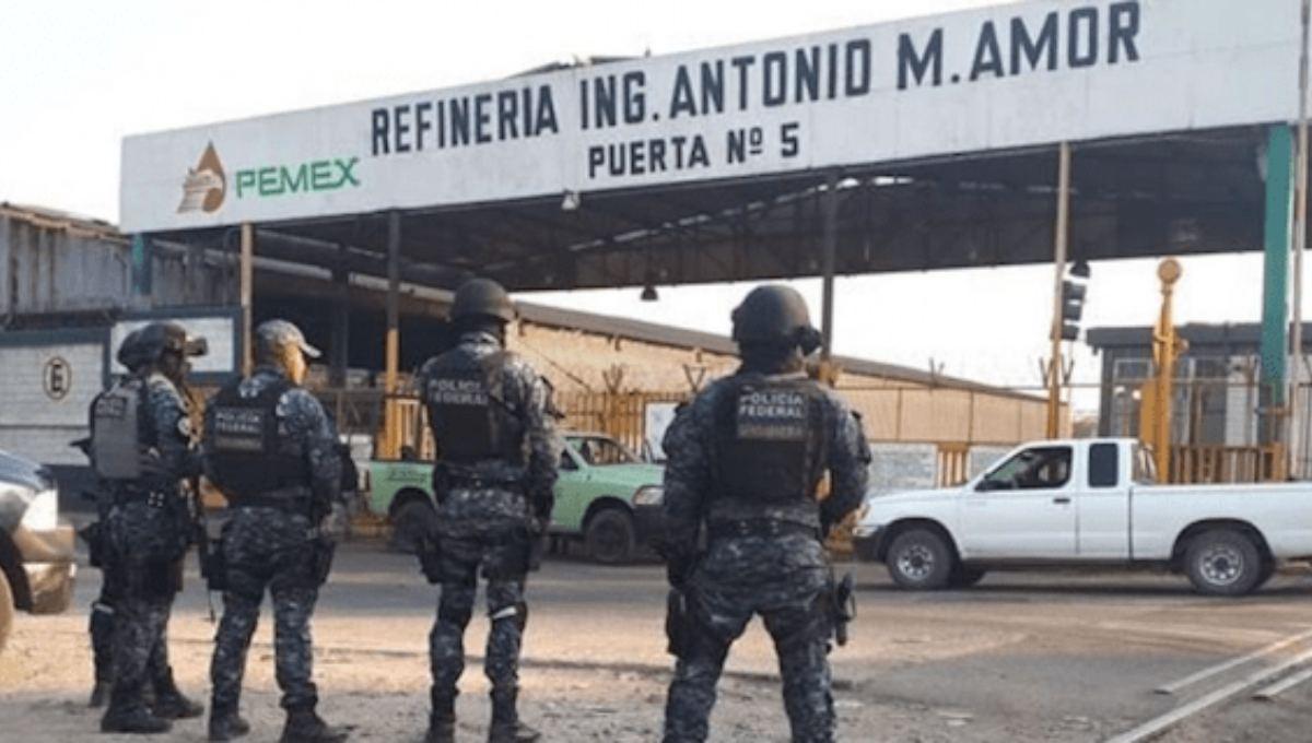"""Sedena confirma intento de atentado del CSRDL de """"El Marro"""" con coche bomba a refinería de Salamanca, Guanajuato"""