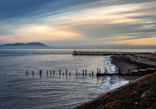 Photo of the shore at Maryport