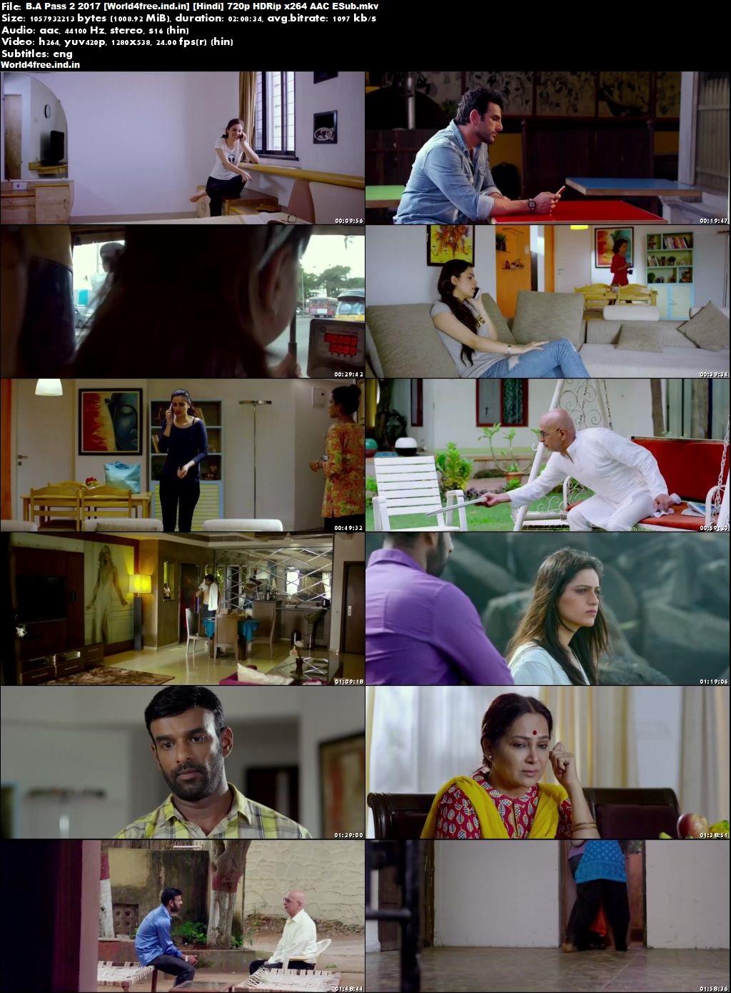 world4free B.A Pass 2 2017 Full HDRip 720p Hindi Movie Download