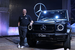 Mercedes-Benz commences its product offensive; Introduces for the first time in India the iconic G-Class in its new guise- the G 350 d