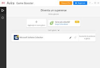 Avira Game Booster