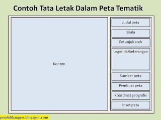 Contoh Layout Peta Tematik