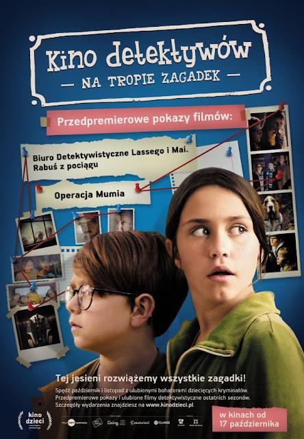 Kino detektywów w wersji online - od 19 listopada na KinoDzieci.pl