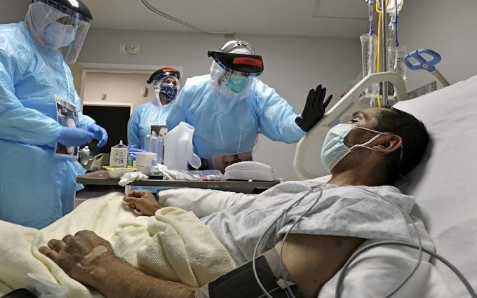 រកឃើញអ្នកឆ្លងកូវីដ-១៩ថ្មីទៀតជាង ១៩ម៉ឺននាក់ និងនាក់ស្លាប់ជាង ២ពាន់នាក់ នាព្រឹកនេះ (សហរដ្ឋអាម៉េរិក)...More than 190,000 new Covid-19 infected found and more than 2,000 dead this morning ( In the United States) ...