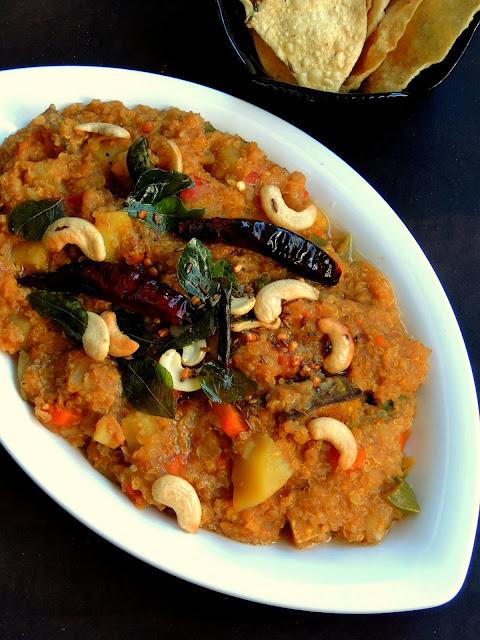 Quinoa Sambar Rice